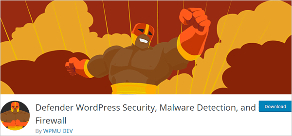 Defender WordPress security plugin