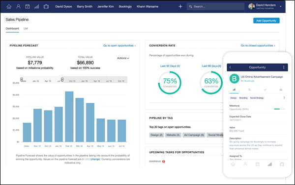 Capsule CRM lets you manage all your customer relationships and see everything from one place.