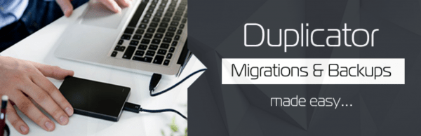 Duplicator - Migrations and backups plugin for WordPress.