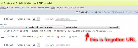 Defender Pro] Defender issue with masking login URL