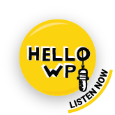 Hello WP badge