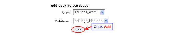 Image of adding user