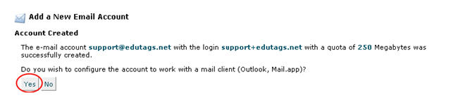 Image of configuring email accounts