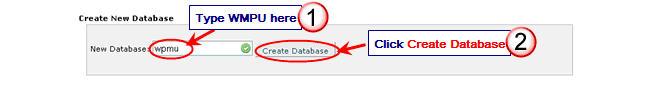 Image of create database