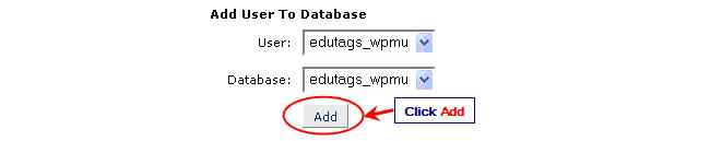 Image of add user to database