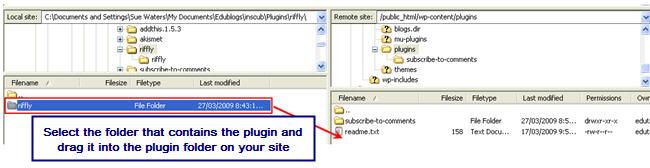 Image of installing plugins