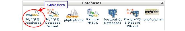 Image of MySQL database