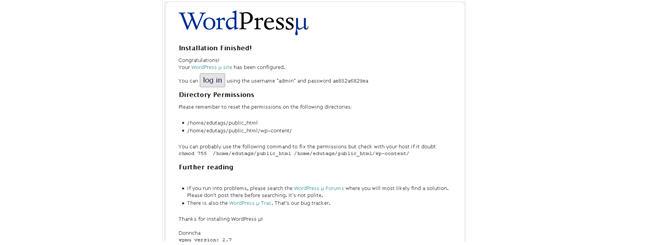 Image of WordPress Password