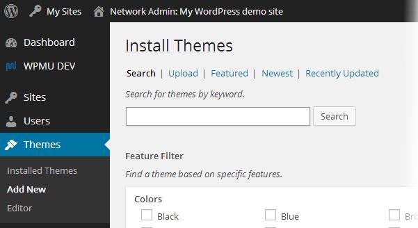 Theme search