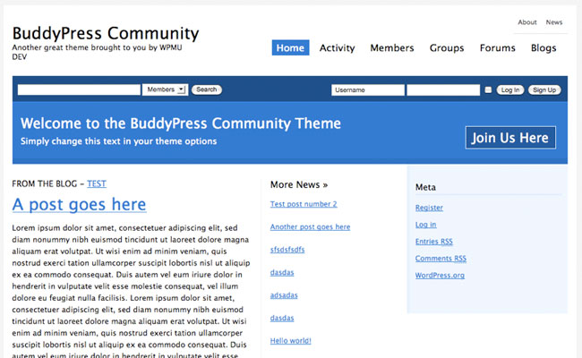 BuddyPress Community