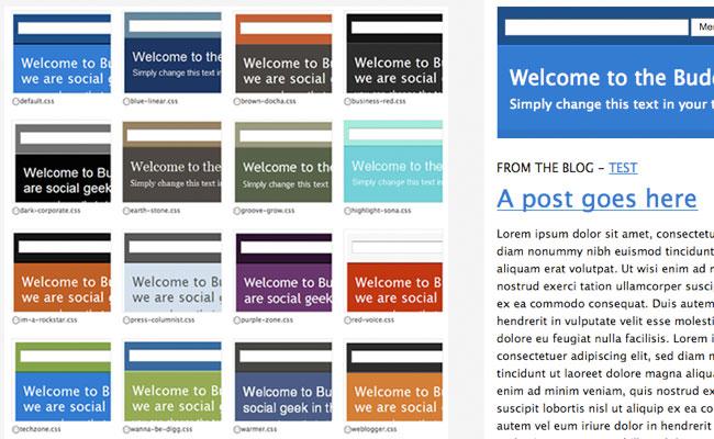 BuddyPress Community styles