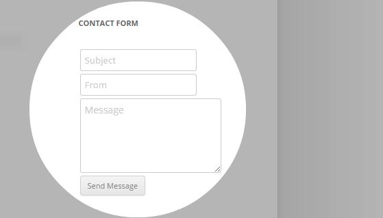 Contact Widget - compact mode