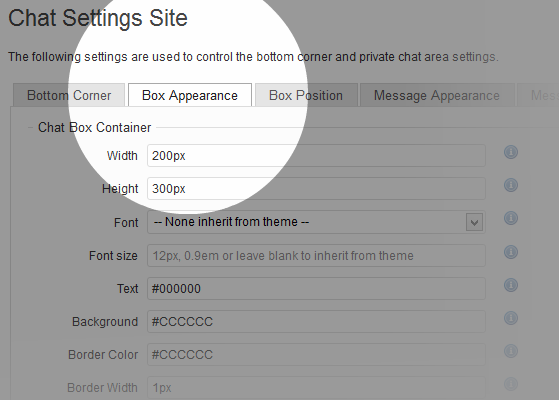 wordpress-chat-2042-settings-site-appearance