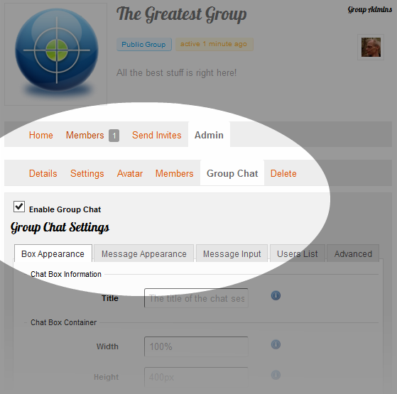 wordpress-chat-buddypress-group-settings