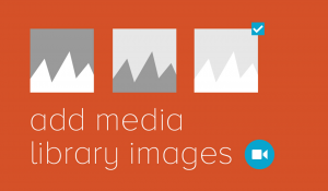 Adding Images From Media Library