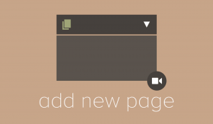 Adding New Pages