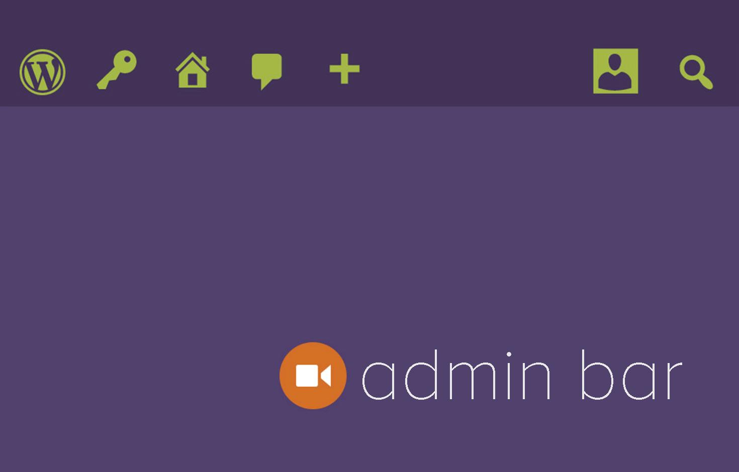 admin-bar