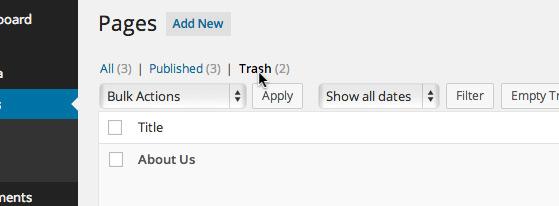 page-trash