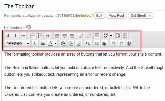 how to use new users from accessing toolbar on wordpress