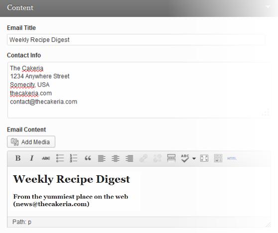 e-newsletter-content