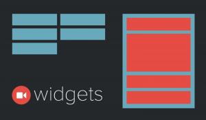 Managing Widgets