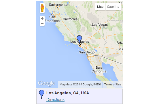 Google Maps front-end