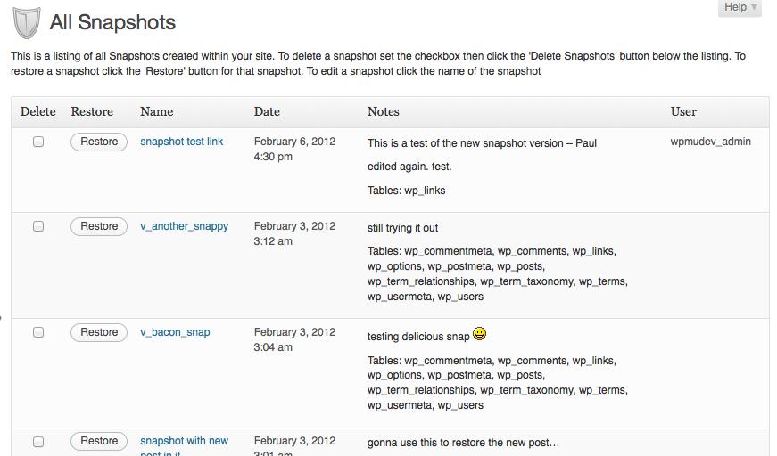 Multiple WordPress Backups