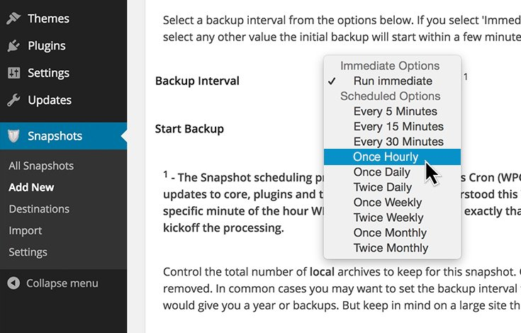 Schedule automated backups for added safety and convenience.