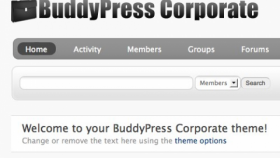 BuddyPress Corporate