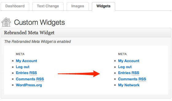 Ultimate Branding - Meta Widget
