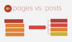 Pages vs. Posts