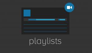 Creating Playlists