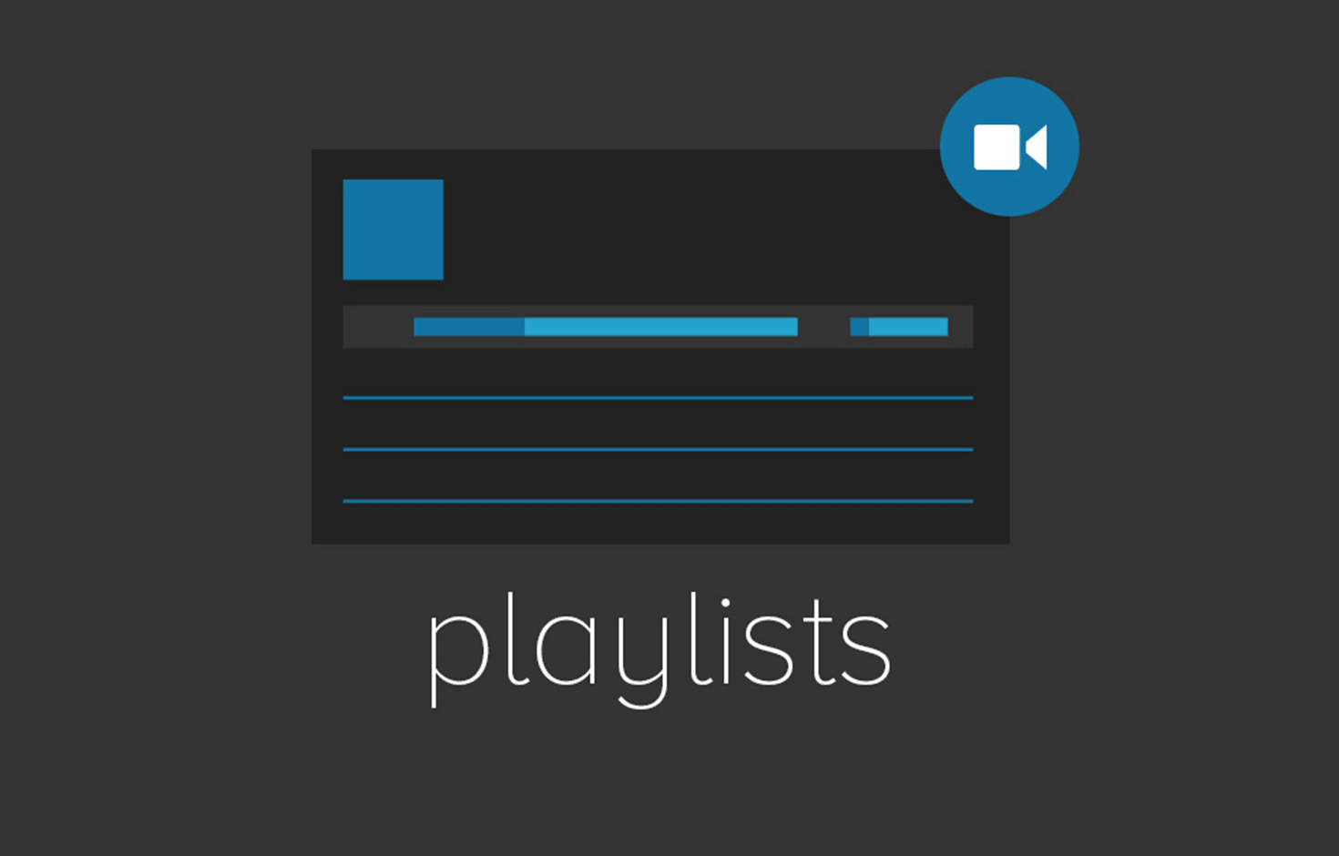 how to create playlist file