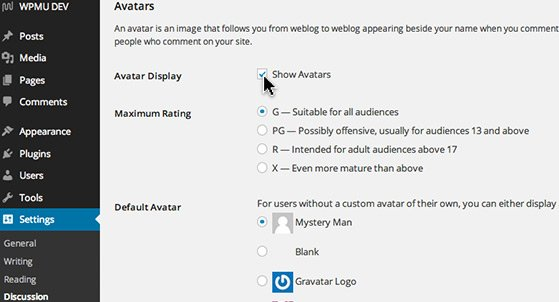 Adjust how avatars display for a more interactive user experience.