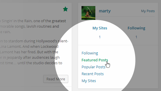 Reader View Featured Posts