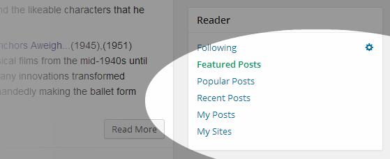 Reader User Info