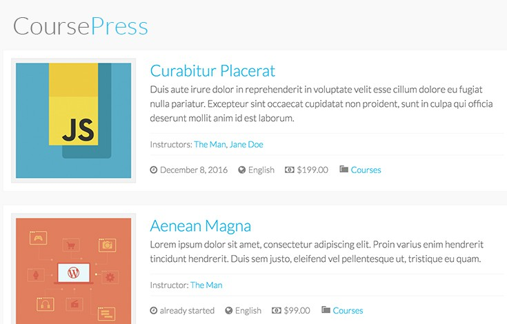 CoursePress Pro makes WordPress a complete learning management system.