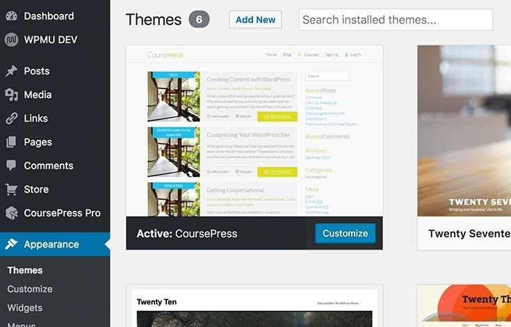 Use the CoursePress theme for completely styled unites right out of the box.