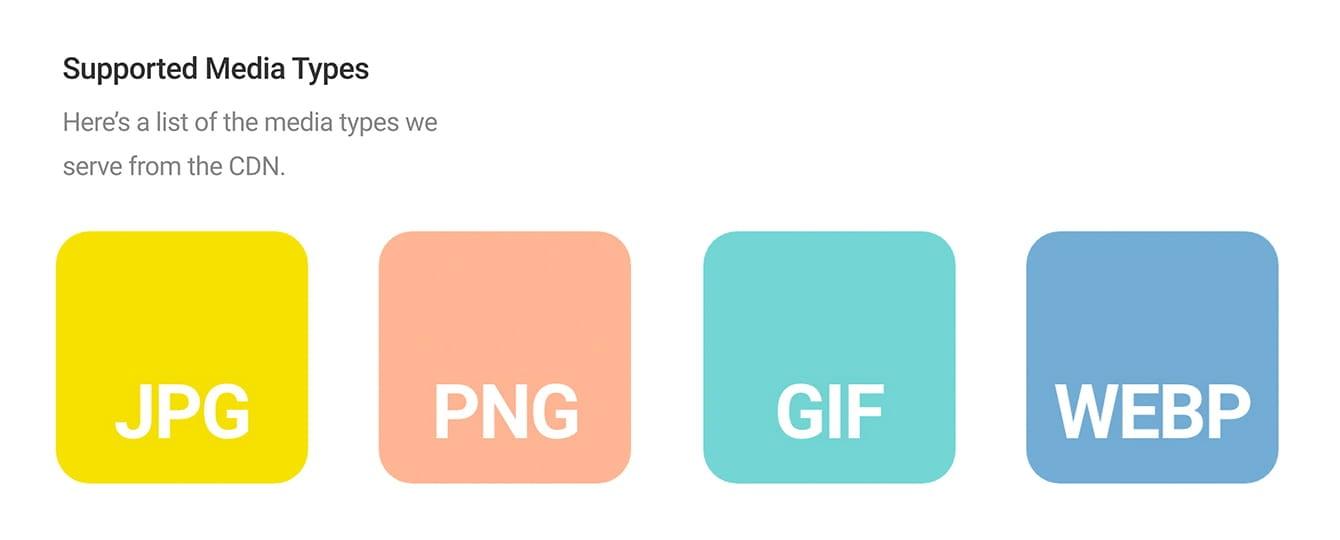 Next-gen WebP images