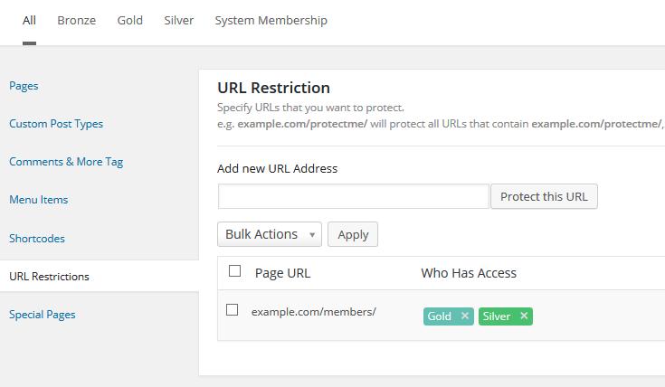 M2 URL Restrictions