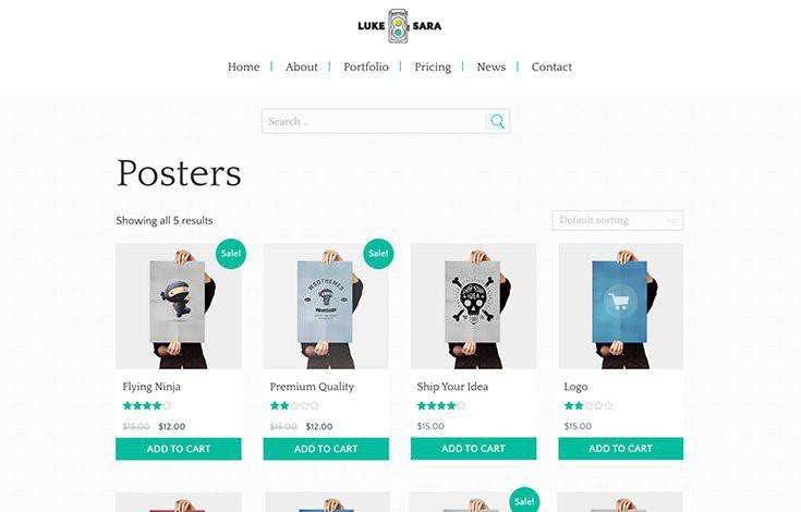 Give both MarketPress and WooCommerce Luke + Sara styles.