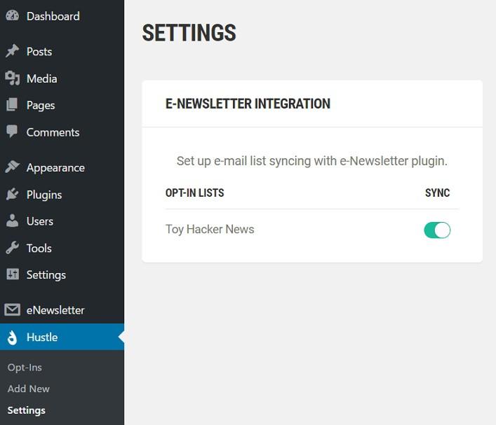 hustle_settings_e-newsletter