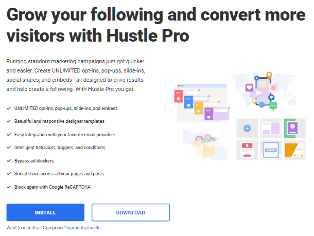 Hustle project page