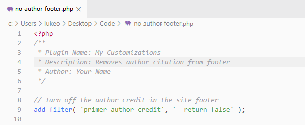 Create php file with code editor
