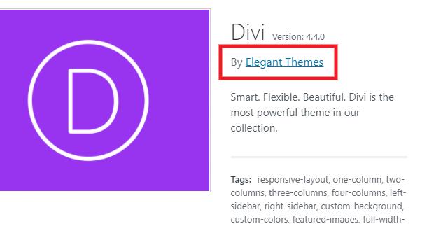 Theme documentation links