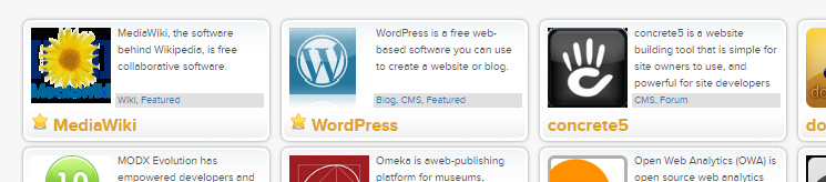 the one click installation icon for wordpress