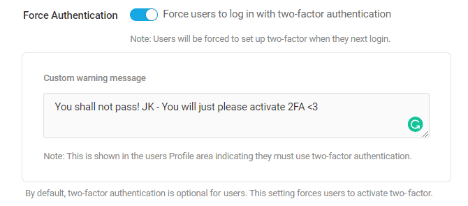 2FA-Force-activation