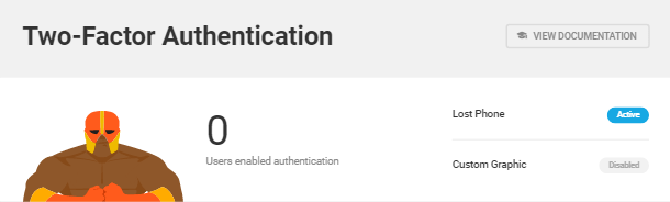 2-Factor-Authentication in Defender