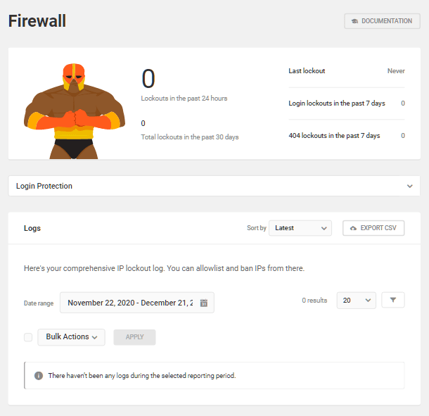 Firewall logs overview in Defender