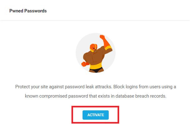 Activate Pwned Passwords feature in Defender